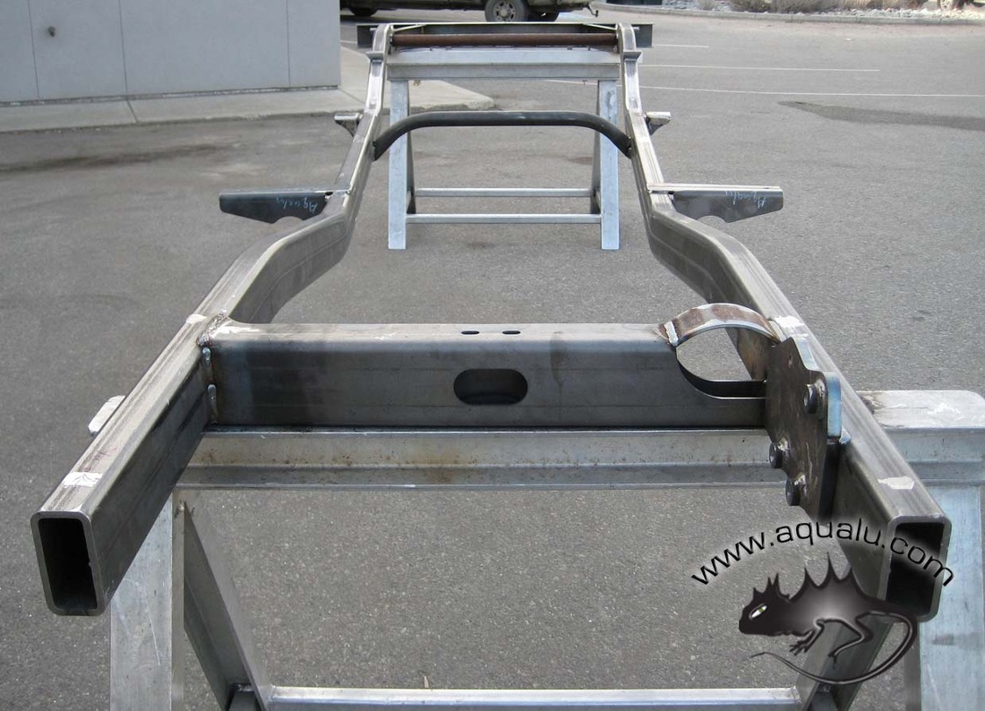 "Fj Cruiser Off Road >> #4660 1968-1978 Quad Cab Frame (120"" W.B.) - HARD BODIES"